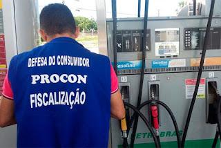 Procon em postos de gasolina