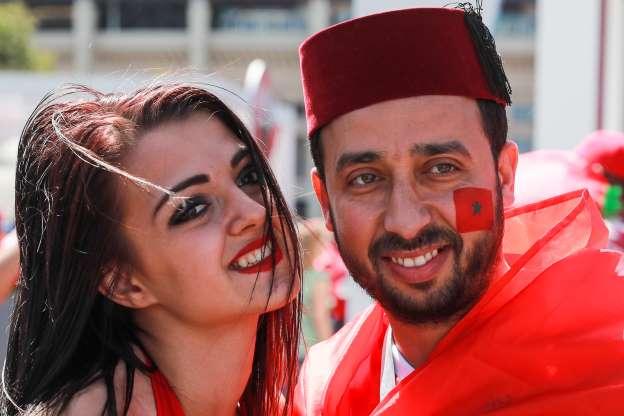 Les meilleurs Photos des supporters marocains au mondial 2018- Russie