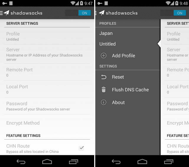 Shadowsocks App