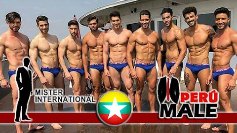 Mister International 2017 / 2018 │ Swimwear Photoshoot