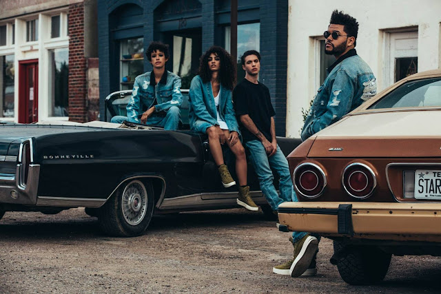 The Weeknd x Puma | 'Deluxe Denim' Second Drop of Their XO Collection