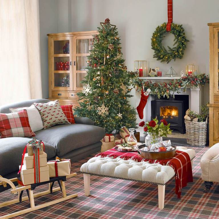 Beautiful Red Living Room Ideas