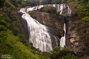 Mallalli Water Falls view from top