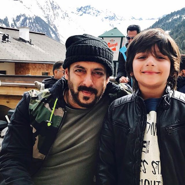 Tiger Zinda Hai is the role of Salman Khan's son in the film Sartaj-kakkar
