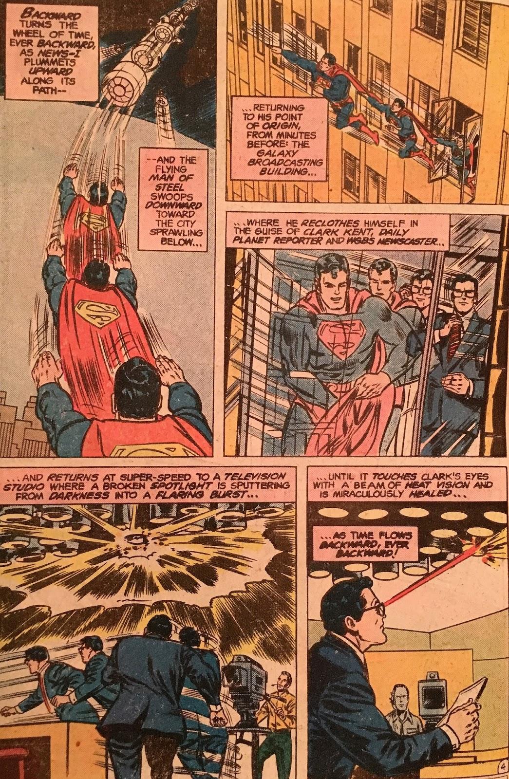 Chris is on Infinite Earths: Superman #345 (1980)