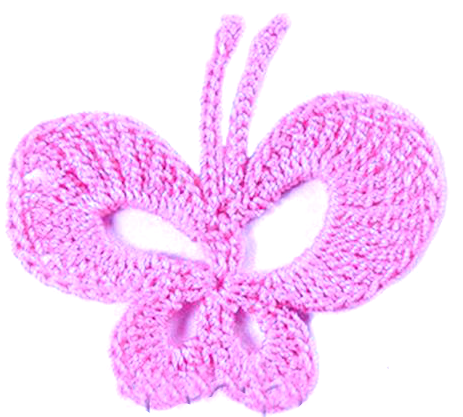 Crochet pattern buterfly