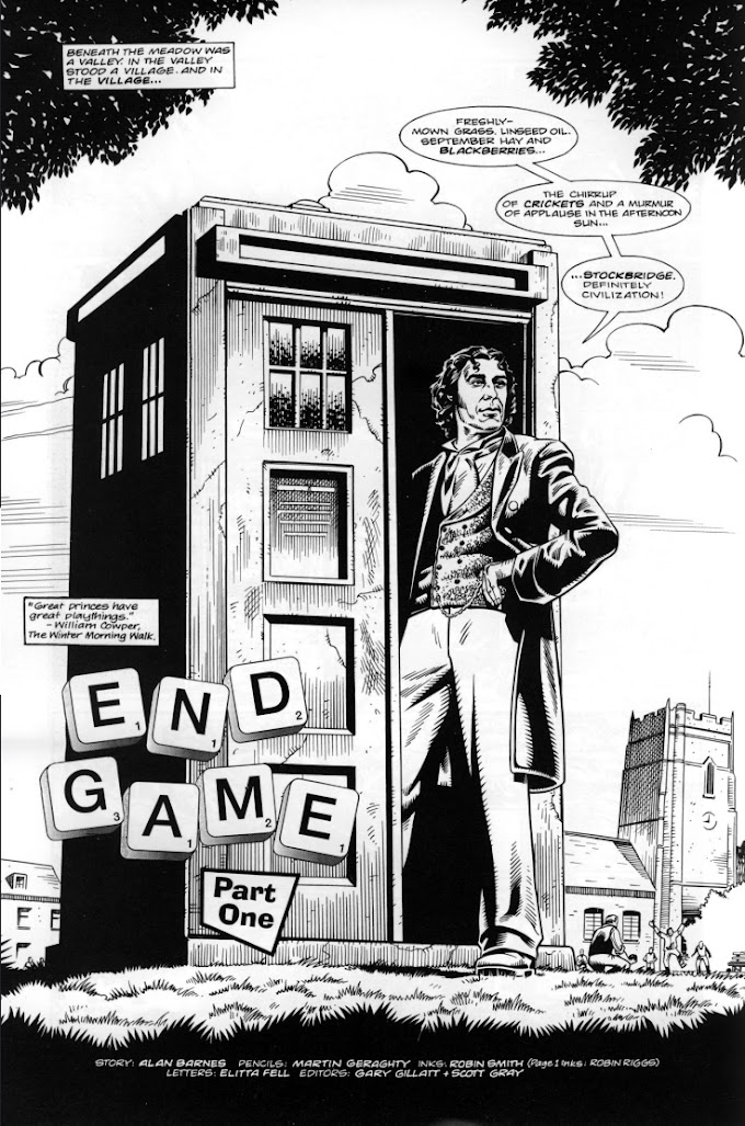 Countdown to Endgame Day 6: Because Doctor Who was technically Marvel that one time