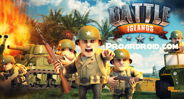 لعبة Battle Islands v5.4 نسخة كاملة للاندرويد (اخر اصدار) logo