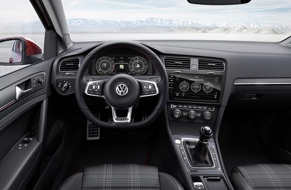 Interior Volkswagen Golf VII GTI 2017