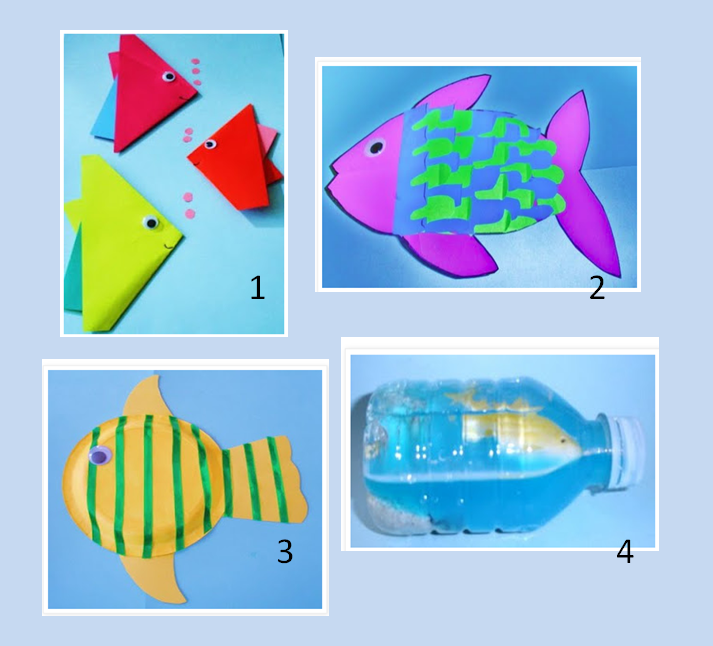fun arts and crafts for kids learning ideas grades k 8 fish craft activities for 7734