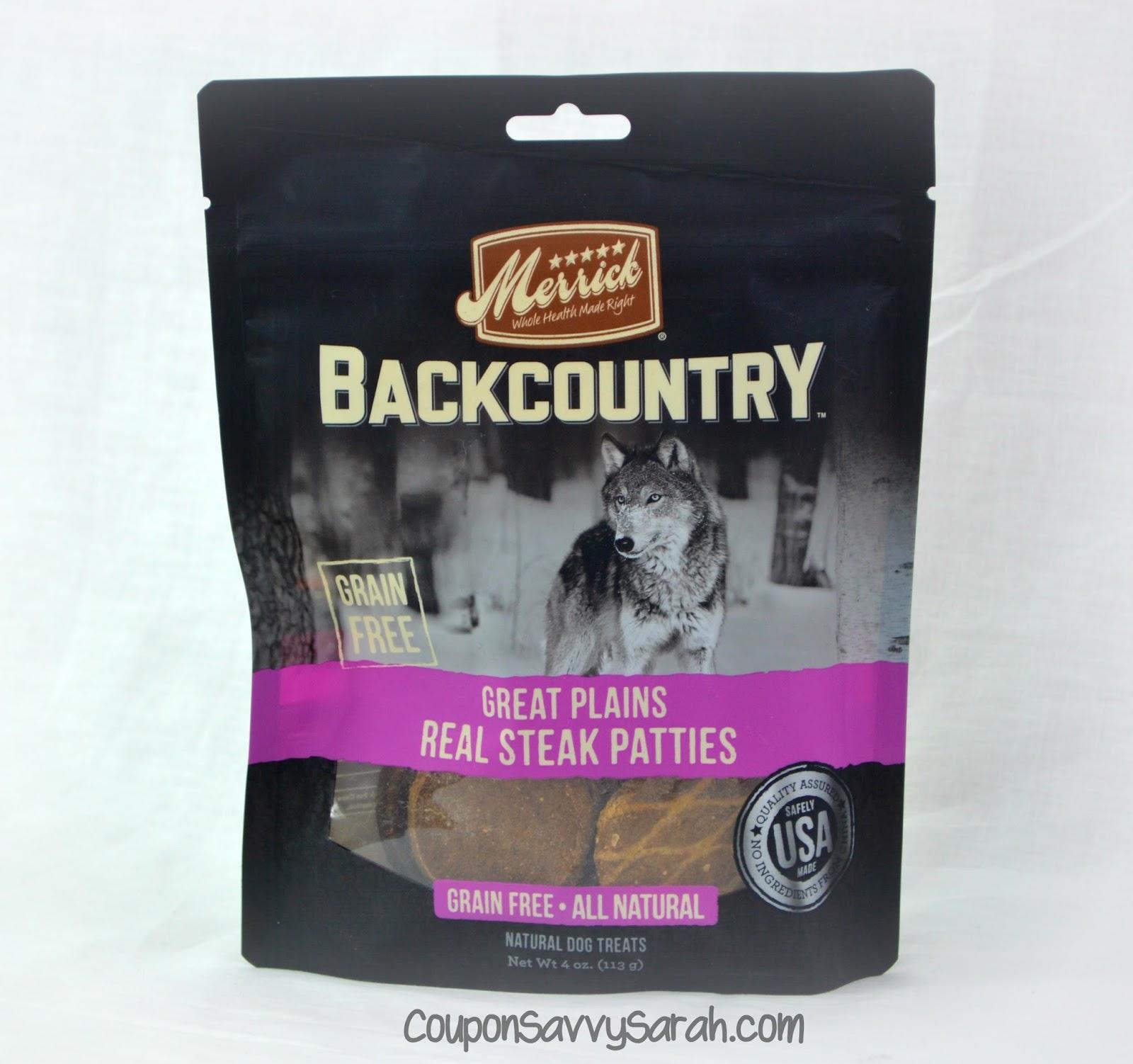 Coupon Savvy Sarah Merrick Backcountry Dog Treats Review