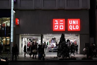 Uniqlo shop in Ginza