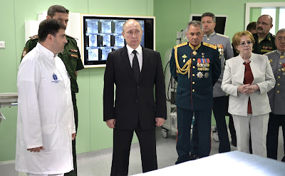 Visit to the Kirov Military Medical Academy Clinic.