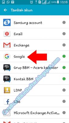 bikin akun gmail di samsung