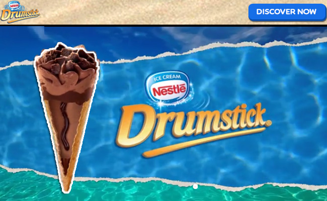 Sponsored Video: Nestle Newest Drumstick Flavor Choco Brownie Fudge
