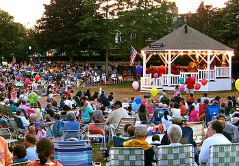 Barbara Eppich Struna: Bandstands and Music - Cape Cod