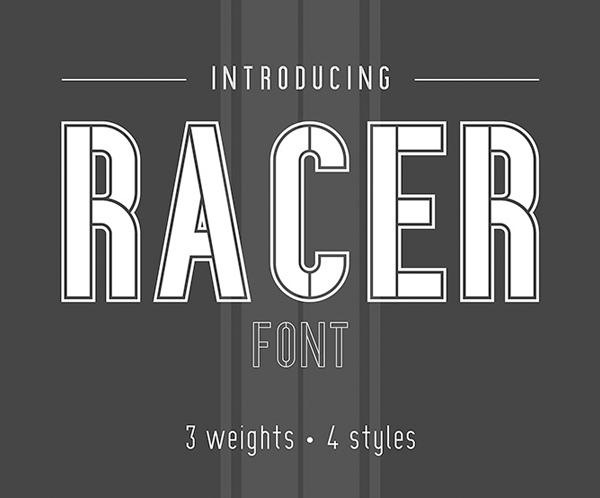 Racer Medium Free Font