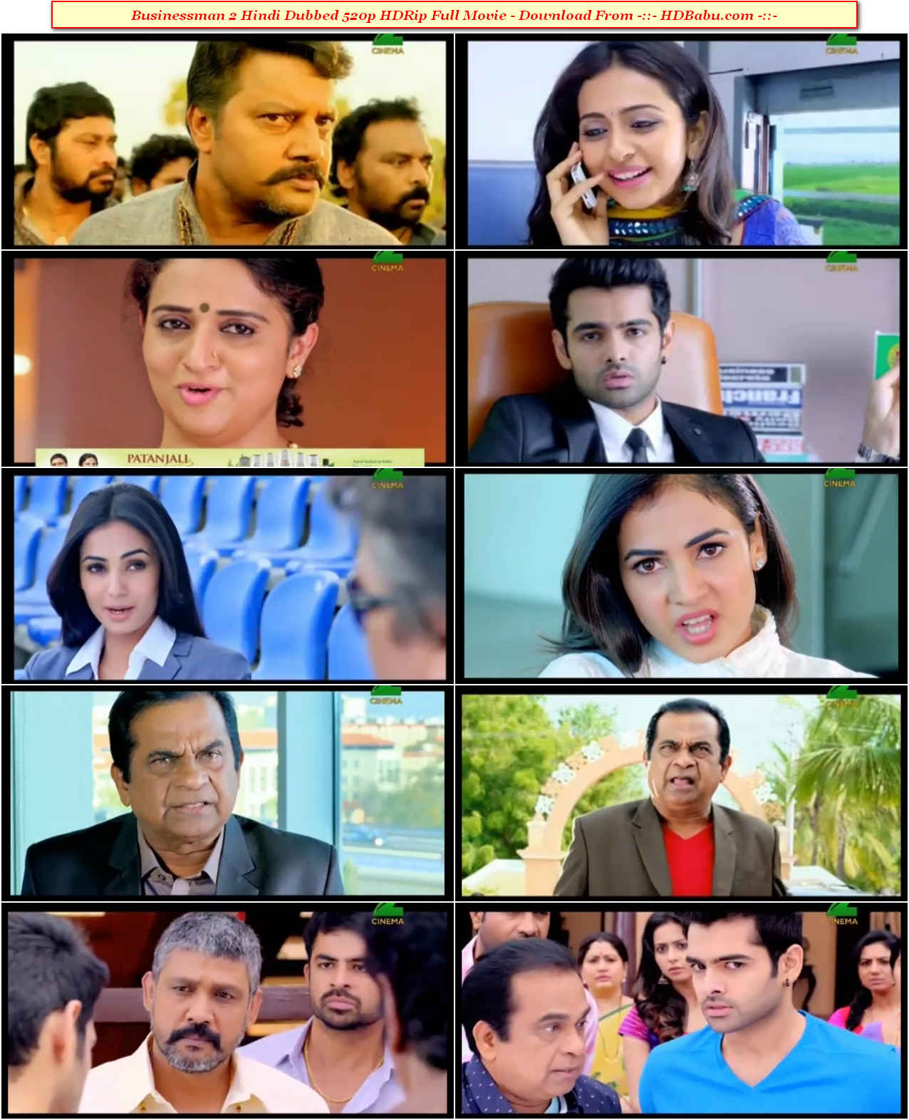 Businessman 2 Hindi Dubbed Full Movie Download