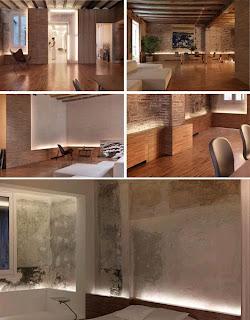Diseño de depas o apartamentos geniales.