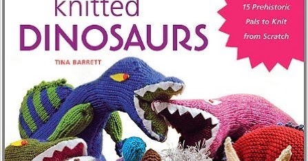 53b77e6951c9f Book Review  Knitting Books - Dinosaurs and Roller Derby