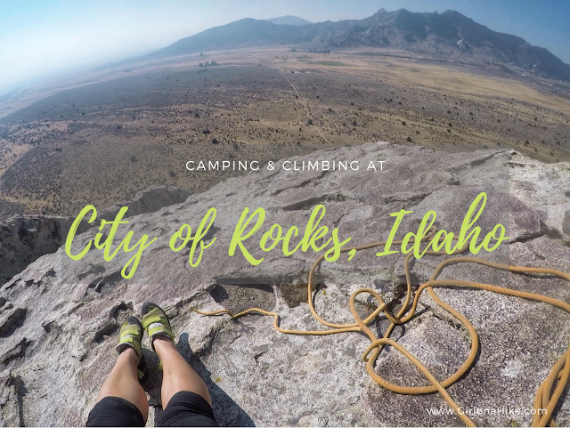 Camping & Climbing at City of Rocks, Idaho