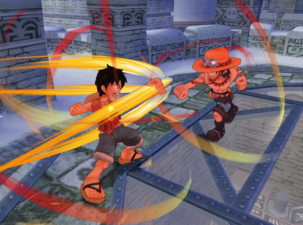 One Piece Adventure Luffy vs Ace