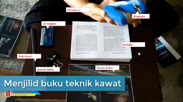 Panduan lengkap membuat buku saku (A6) sampai jadi + video