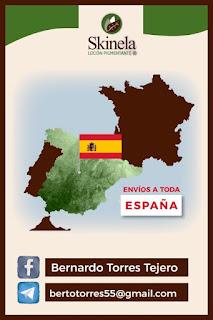 Skinela en España