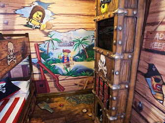 Habitación infantil piratas