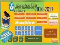 Aplikasi Administrasi Guru Versi Baru Tahun 2016-2017 Plus Absensi Siswa