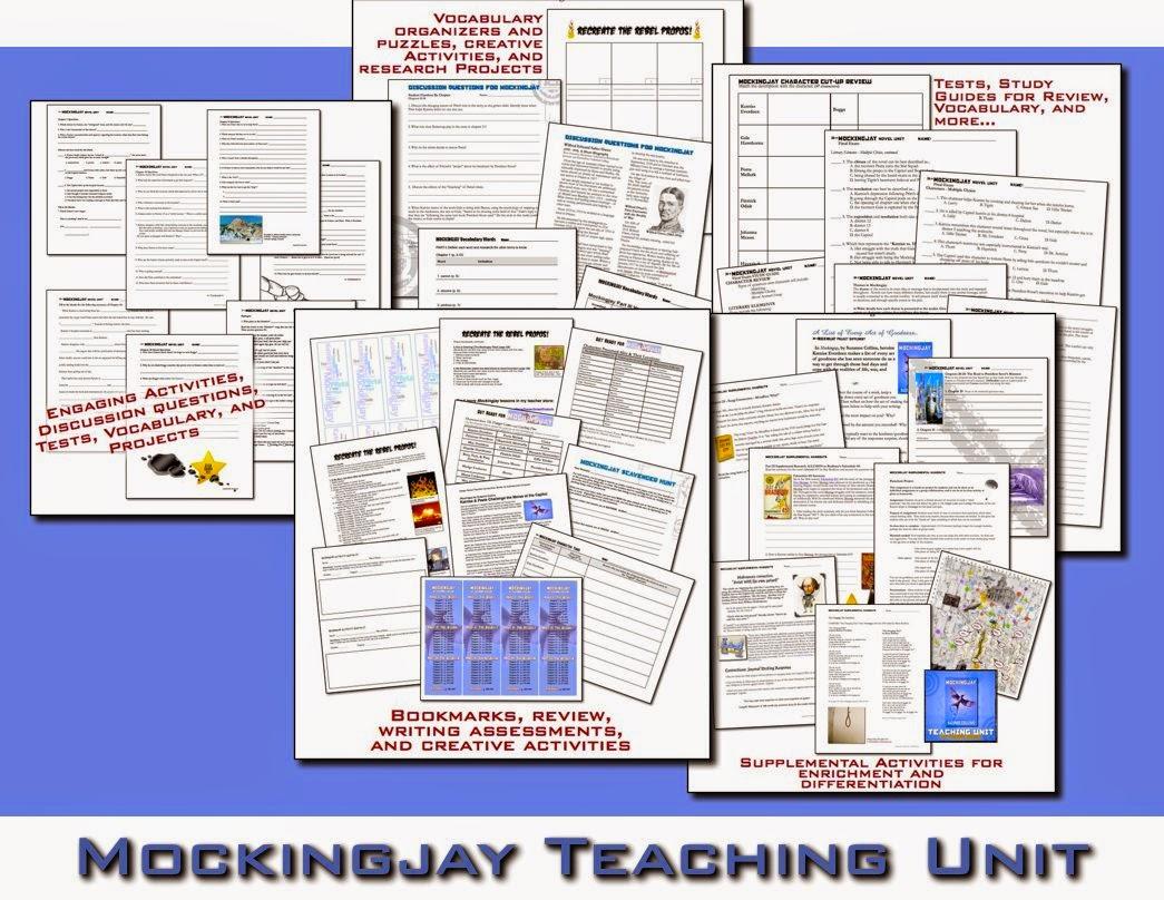 Mockingjay Novel Unit