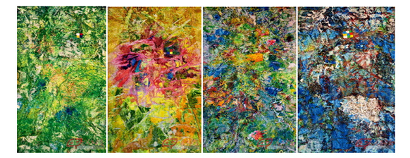 Just After Sitting Down Xu Dongdong Reveals Souls Of Creatures In Four Seasons His Latest Series Of Paintings