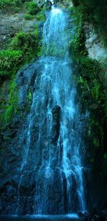 Vista frontal da Cachoeira da Neblina, Parque das 8 Cachoeiras, São Francisco de Paula