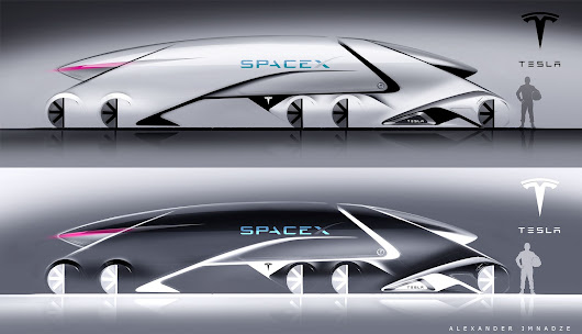 Tesla Spacex falcon truck