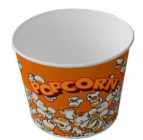 Фото бумажная упаковка для попкорн