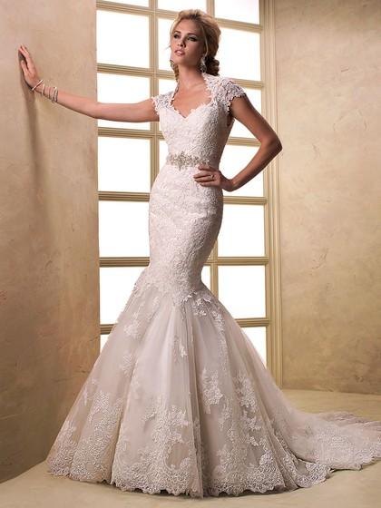 http://www.dressfashion.co.uk/product/cap-straps-trumpet-mermaid-v-neck-lace-sashes-ribbons-open-back-wedding-dress-00020369-4661.html?utm_source=minipost&utm_medium=1131&utm_campaign=blog