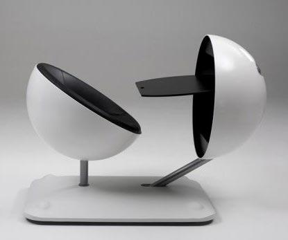 Resultado de imagen de muebles futuristas
