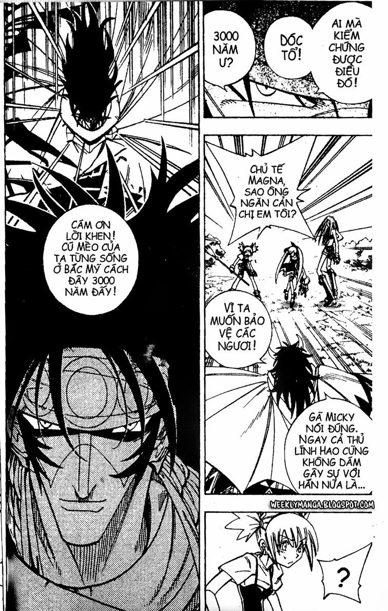Shaman King [Vua pháp thuật] chap 161 trang 15