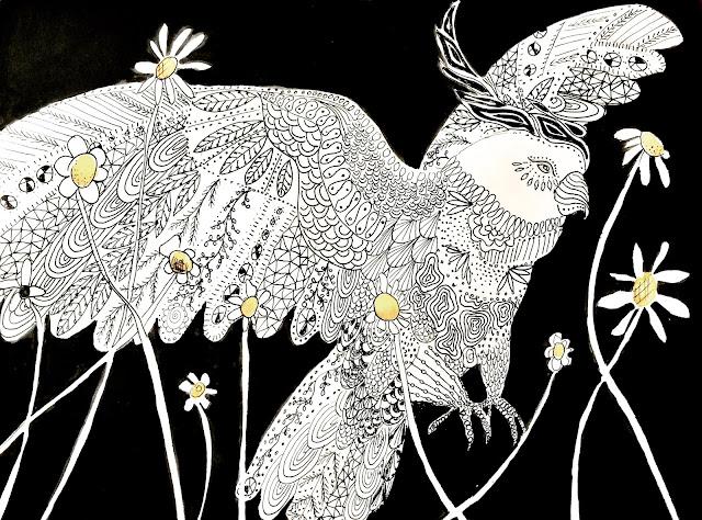 Galia Alena- sketch a day challenge