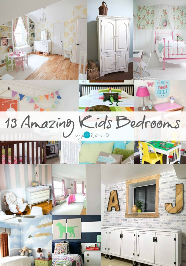 13 Amazing Kids Bedrooms, MyLove2Create