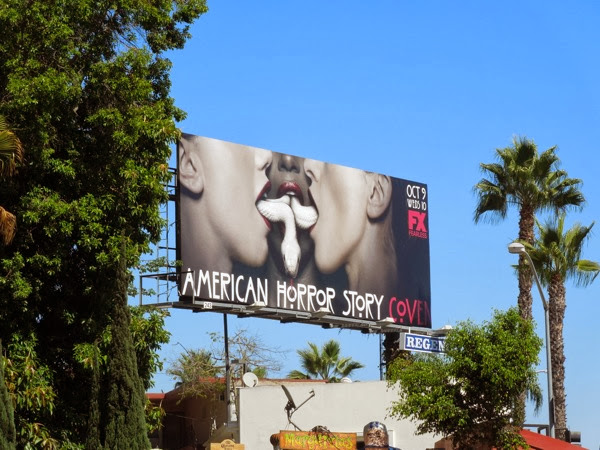 American Horror Story season 3 billboard