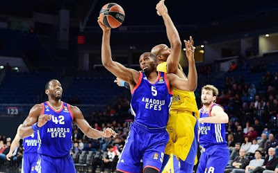 Euroleague | Anadolu Efes - Maccabi Fox Tel Aviv