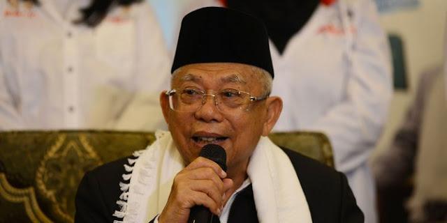 JK Minta Ahok Tak Masuk Timses Jokowi, Maruf Amin: Bagus!