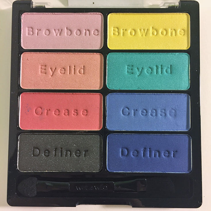 wet n wild coloricon Eyeshadow Collection Poster Child