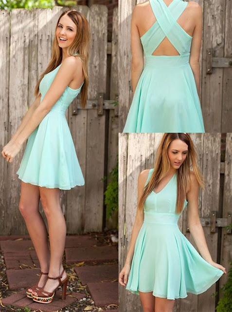https://www.dresstells.com/a-line-v-neck-short-mint-criss-cross-straps-chiffon-homecoming-dress-with-pleats.html