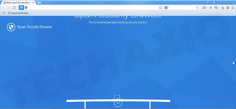 Spark Security Browser Screenshot
