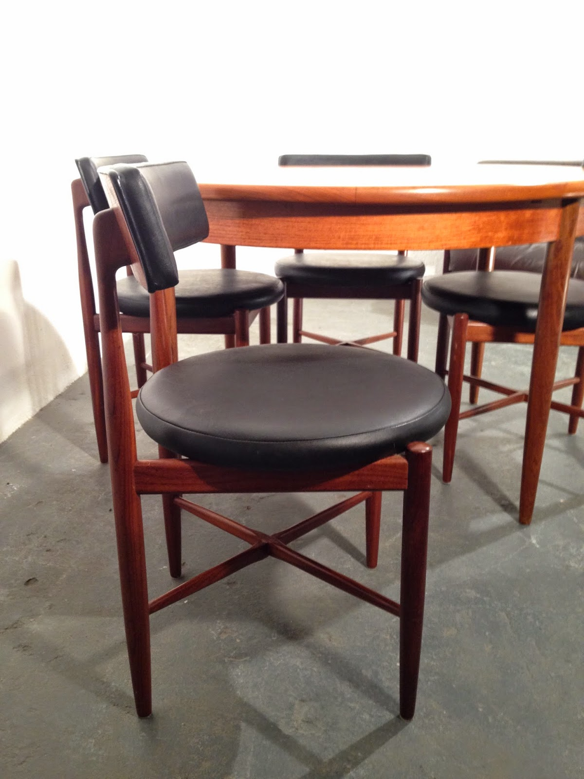 retro dining chairs ireland charcoal banquet chair covers ocd vintage furniture november 2014