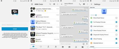 BBM Mod New Iphone Style 2.12.0.12 (iBBM)