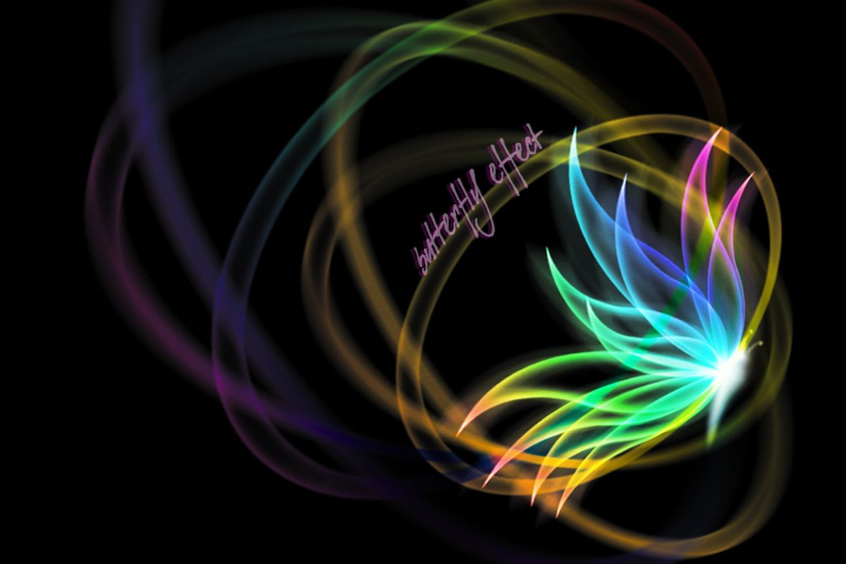 Neon Butterfly Desktop Background: Breathing Forgiveness: Anti-Slavery Campaign Interview