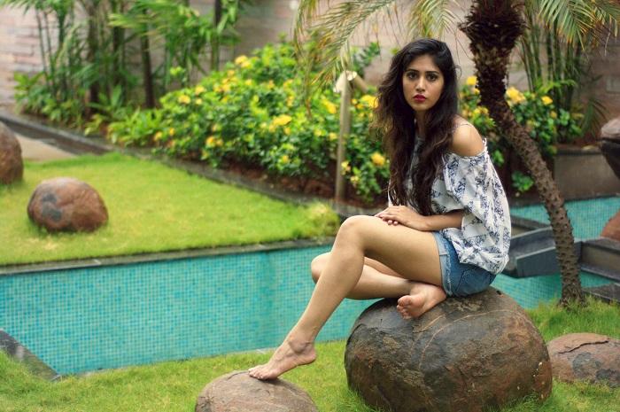 Actress Chandini Chowdary Latest Photoshoot 2017